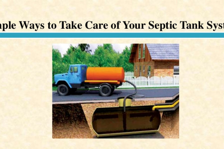 Simple Ways to Take Care of Your Septic Tank System  Infographic