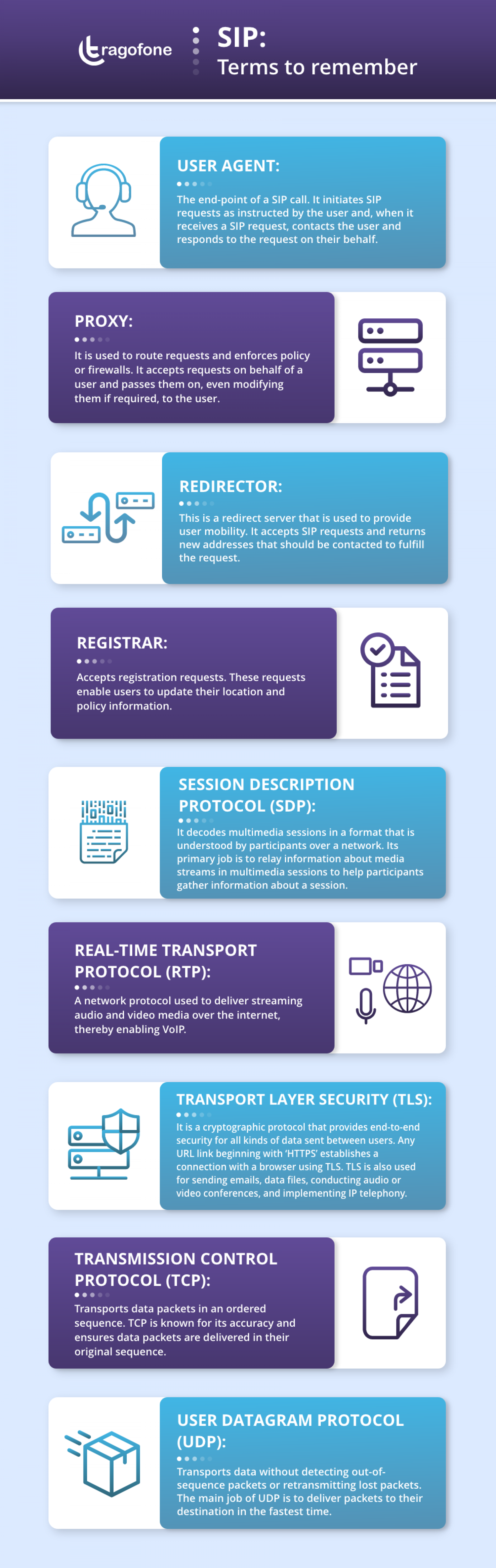 SIP: Terms to Remember Infographic