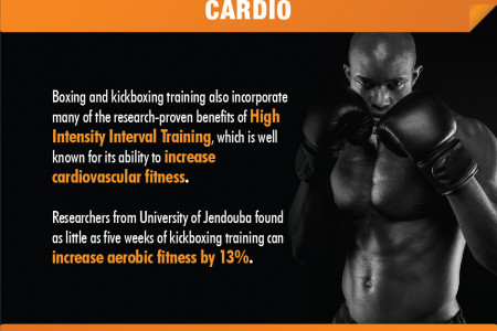 Six Reasons to Get Fit with Boxing or Kickboxing Infographic