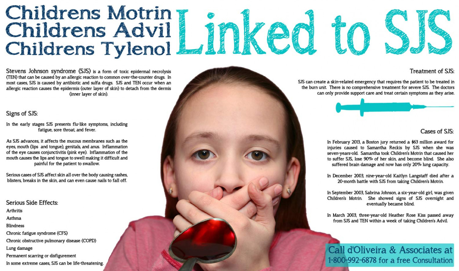 Sjs Lawyer Childrens Motrin Advil Tylenol Linked To