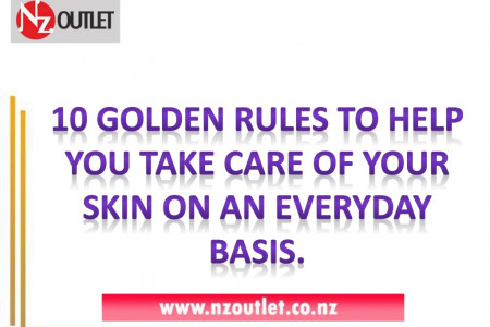 Skin Care Tips and Ideas Infographic