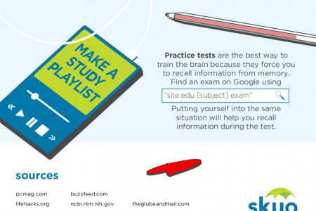SKYO Study Guide for Studying Infographic