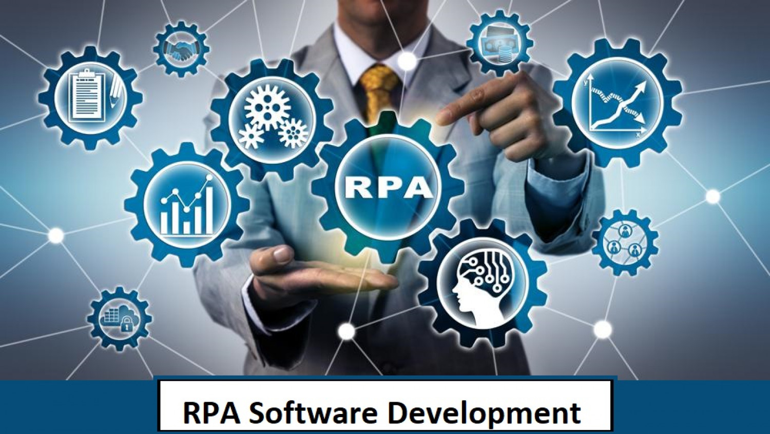 Slash Your Operational Cost In Half With RPA  Infographic