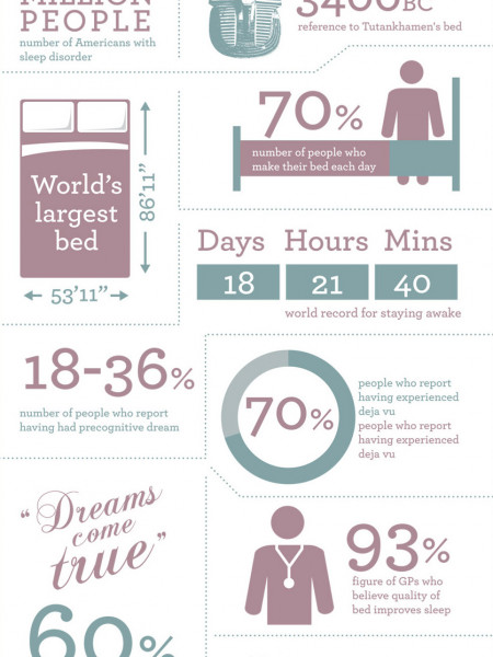 Sleep Habits And The Beds You Lie In Infographic