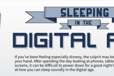 Sleeping in the Digital Age Infographic