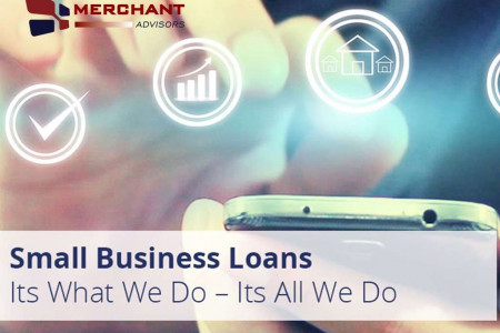 Small Business Loans from Merchant Advisors Infographic