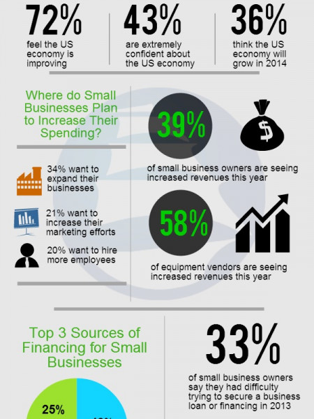 Small Business Survey  Infographic
