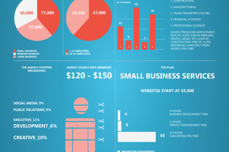 Small Business Website Support Infographic
