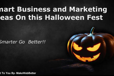 Smart Business and Marketing Ideas this Halloween Infographic