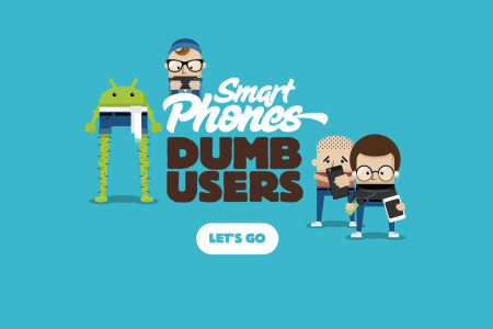Smart Phones Dumb Users Infographic