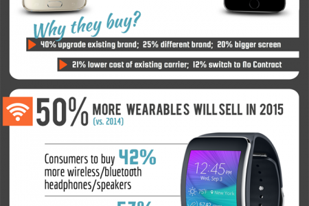 Smartphone Sales on the Raise and More Infographic