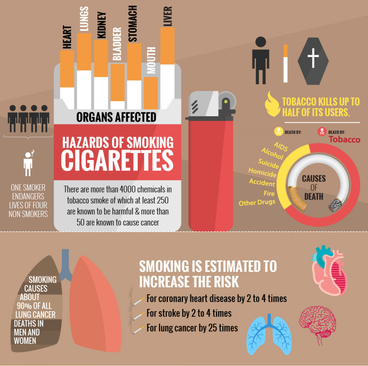 a paper on the hazards of smoking Cigarette smoking harms nearly every organ of the body, causes many  of  smoking—50 years of progress: a report of the surgeon general.
