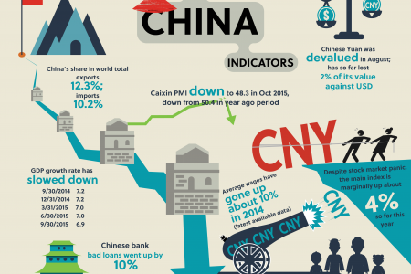 Snapshot of China Indicators Infographic