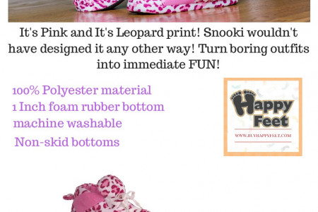 Snooki Signature Pink Leopard Print Slippers Infographic