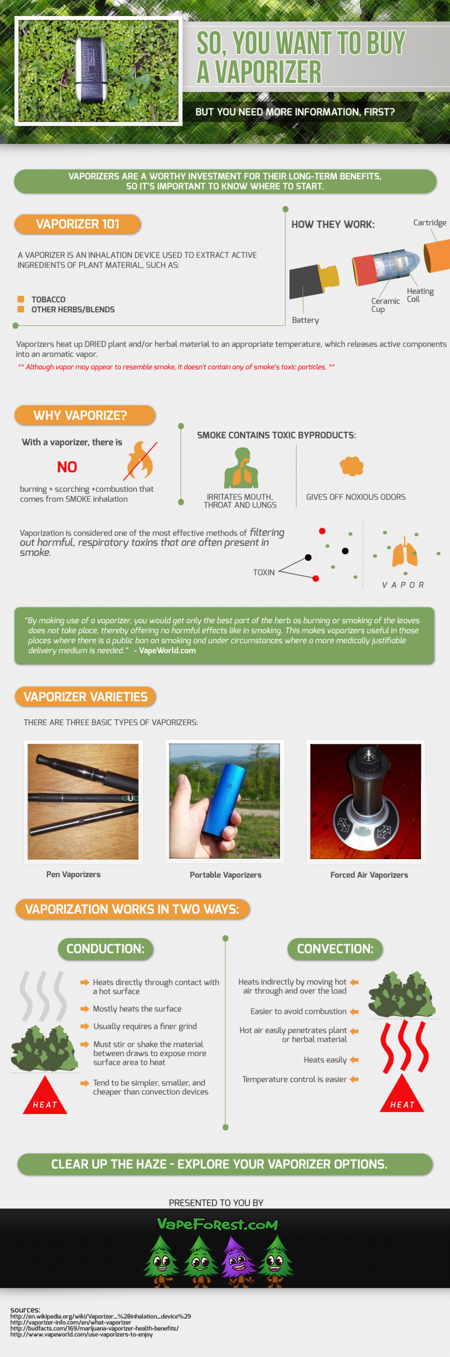 So, you want to buy a vaporizer  Infographic