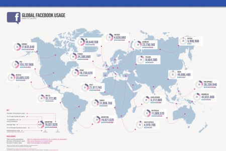 Social Marketing Platforms In Focus: Facebook Infographic
