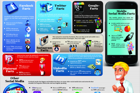 Social Media Facts & Statistics to Dazzle in 2015 Infographic
