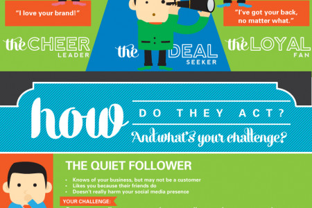 Social Media Fans Infographic