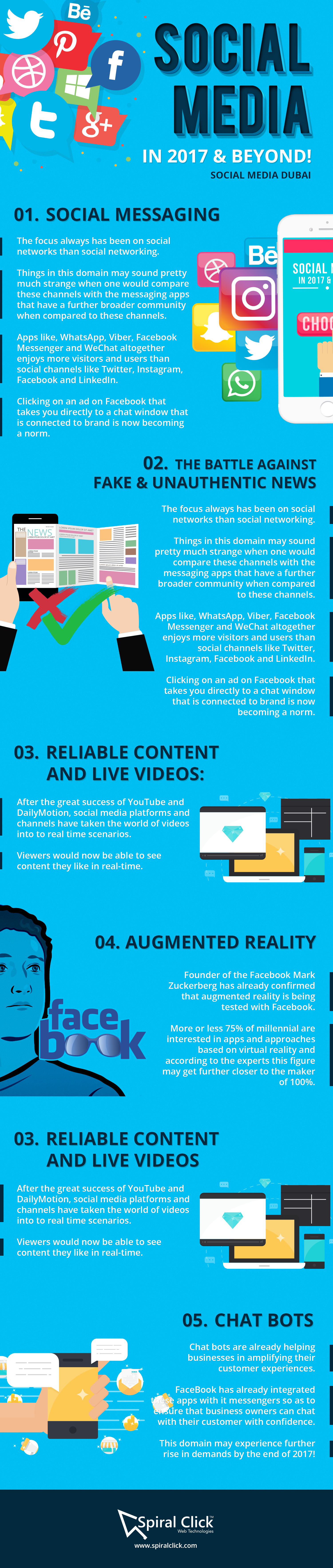 Social Media Marketing In 2017 And Beyond! Infographic