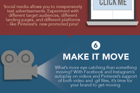 Social Media New Year's Resolutions Infographic