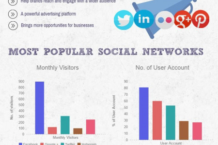 Social Media: Taking the Business World by Storm Infographic