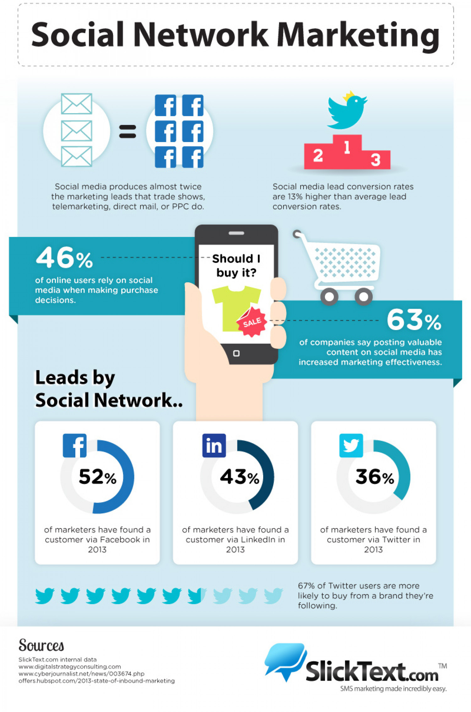 Social Network Marketing Infographic