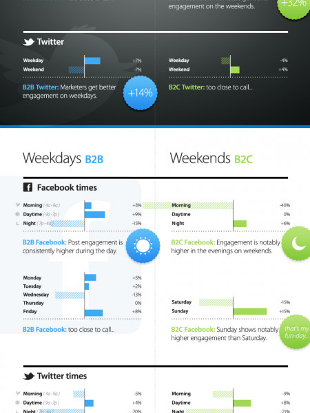 Social Timing Insights  Infographic