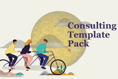 Soft Consulting Template Pack | Free Download Infographic