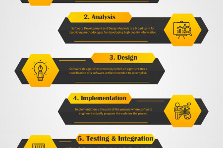 SOFTWARE DESIGN AND DEVELOPMENT Infographic