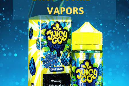 Some Awesome Collection of Juicy Flavours at Vape Shop!  Infographic