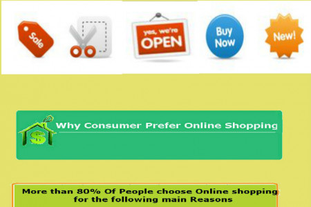 Some Interesting Facts about Online USA Shoppers  Infographic