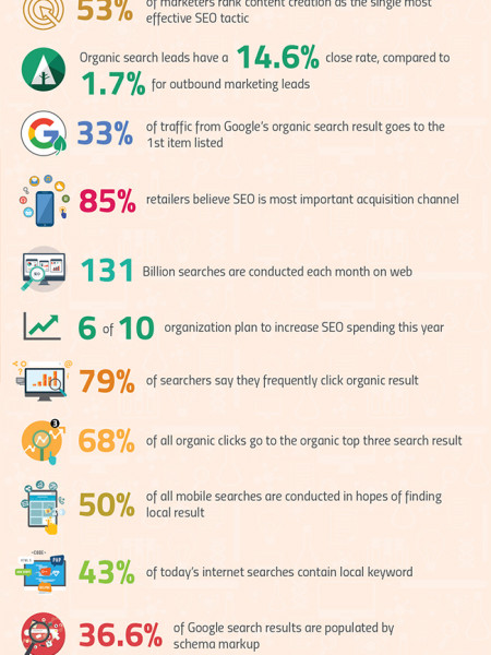 Some Interesting Stats about Importance of SEO Infographic