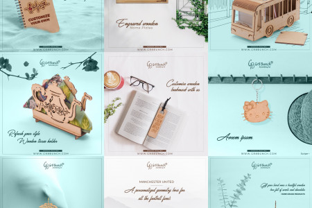 Some Wooden Gifts from Gr8 Bunch [Image] Infographic