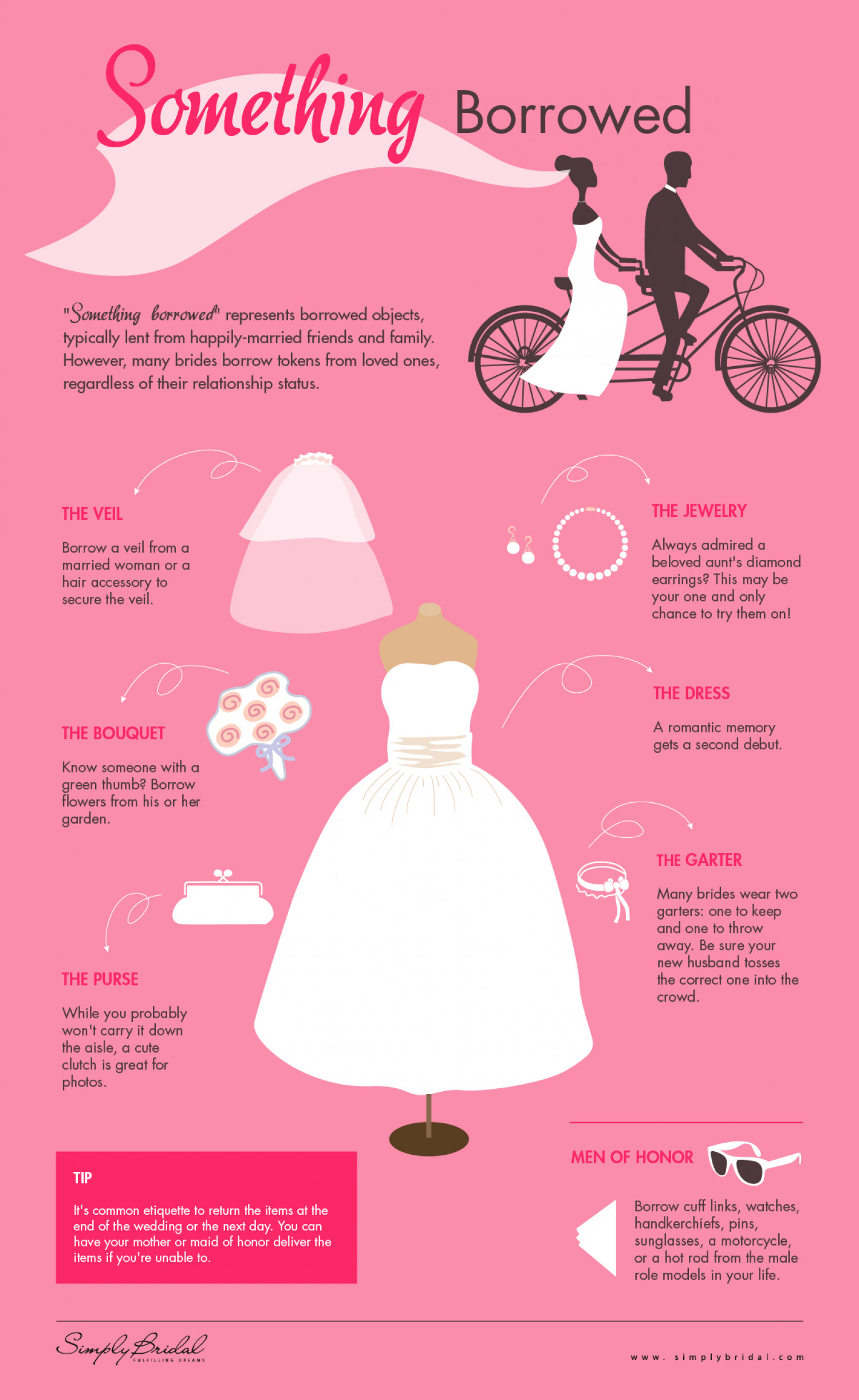 Something BORROWED Infographic