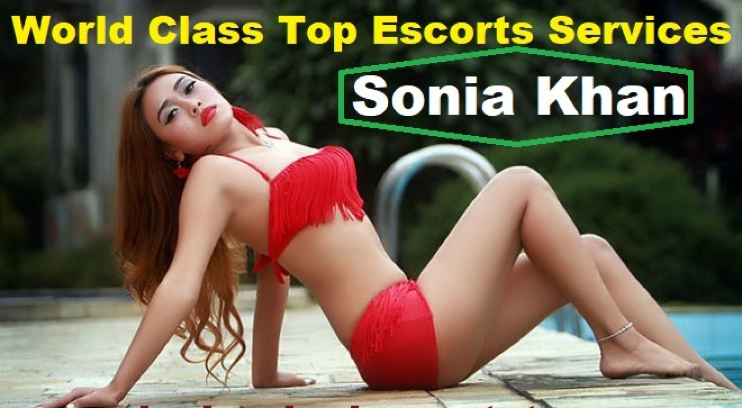 Sonia Khan Offering VIP Hyderabad Escorts Service 24/7 Infographic