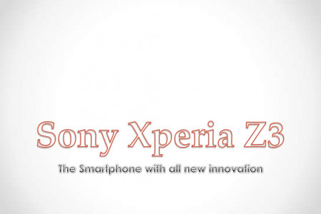 Sony Xperia Z3: Innovative Smartphone Infographic