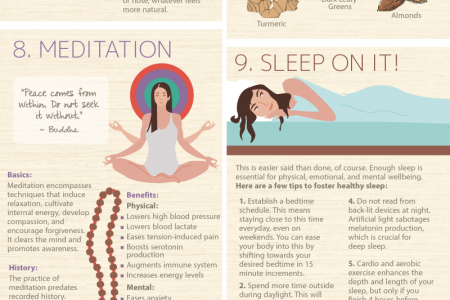 Soul Food: 21 Ways to Nourish Your Body and Elevate Your Mind Infographic
