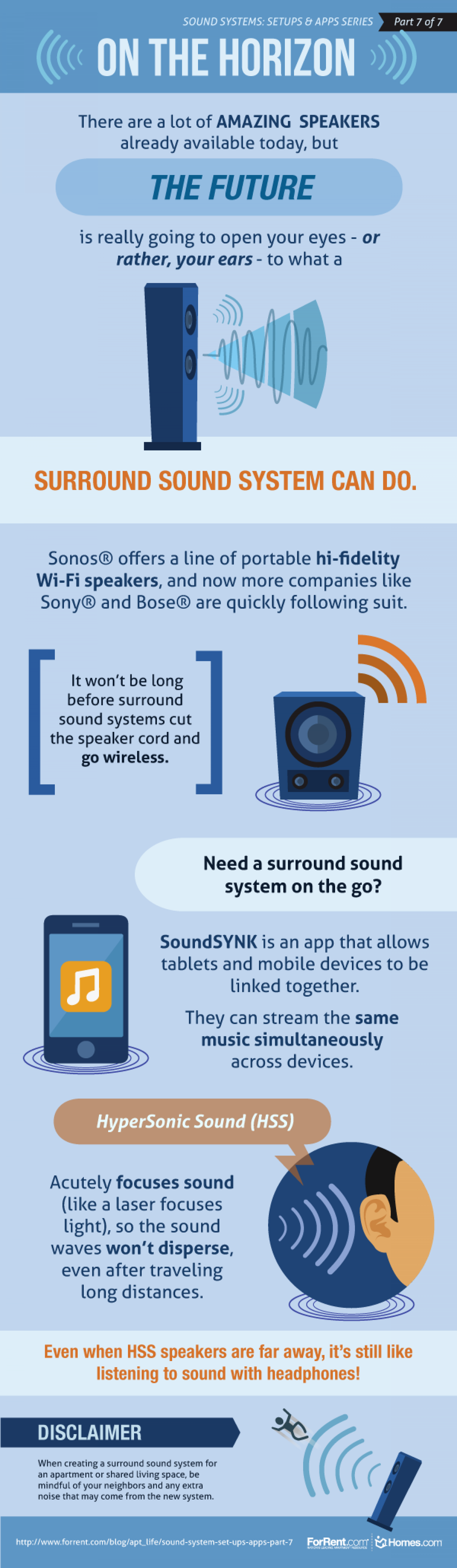 Sound System Set Ups & Apps – Part 7 Infographic