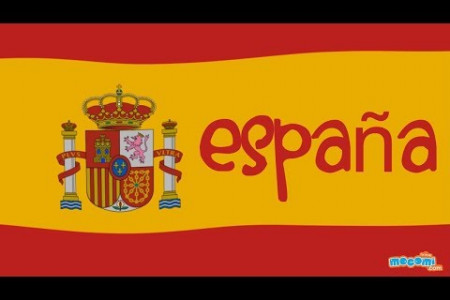 Spain Fun Facts Infographic