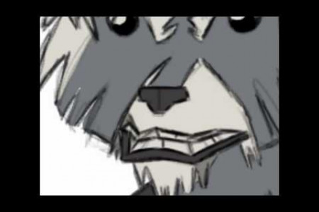 Speed Drawing #2: Rocket Raccoon!  Infographic