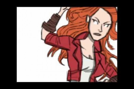 Speed Drawing #3: Scarlet Witch - The Avengers: Age of Ultron!  Infographic