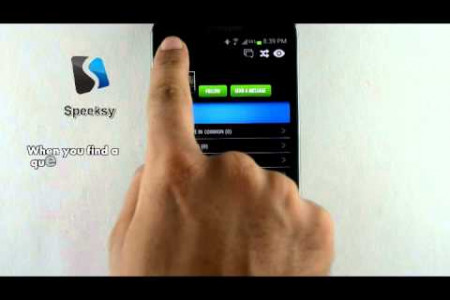 Speeksy Android App Demo Video Infographic