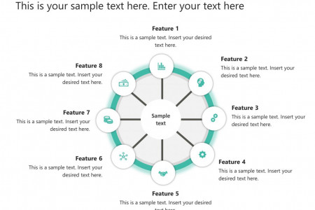 Spoke And Wheel PowerPoint Template Infographic