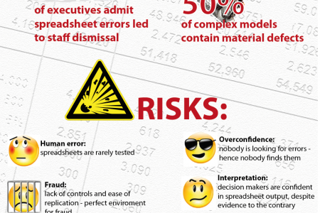 Spreadsheet Errors: True Cost Infographic