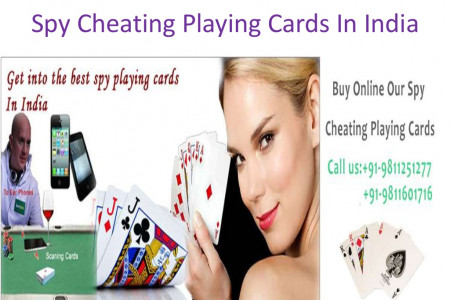 Spy Cheating Playing Cards in Delhi India  Infographic