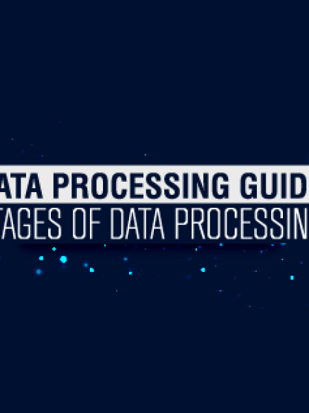 6 Stages of Data Processing - Data Processing Services Guide Infographic