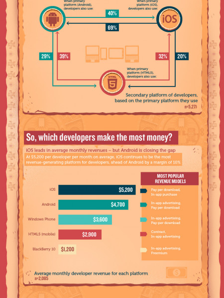 Developer Economics: State of the Developer Nation Infographic