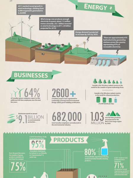 State of the Green Economy Infographic