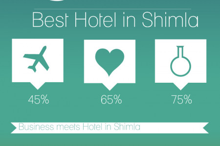 Stay to best hotel in shimla Infographic