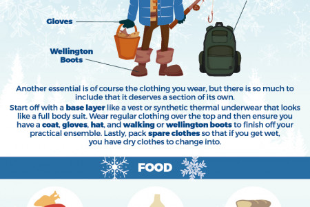 Staying Safe in Winter Infographic